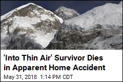 'Into Thin Air' Survivor Dies in Apparent Home Accident