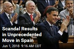 No-Confidence Vote Gives Spain a New Leader