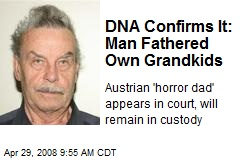 DNA Confirms It: Man Fathered Own Grandkids