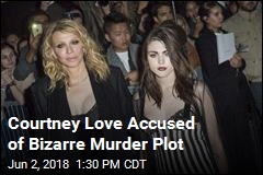 Courtney Love Accused of Bizarre Murder Plot