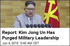 Report: Kim Jong Un Has Fired Top 3 Military Officials