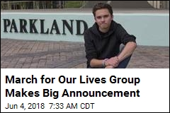 March for Our Lives Group Makes Big Announcement
