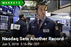 Nasdaq Sets Another Record