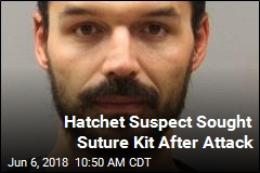 Hatchet Suspect Sought Suture Kit After Attack
