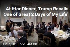 Trump Hosts White House Ramadan Dinner