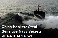 China Hacks Navy Contractor, Steals Submarine Data