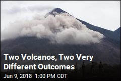 Two Volcanos, Two Very Different Outcomes