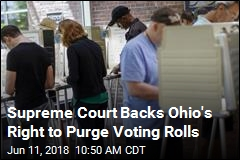Supreme Court Backs Ohio's Right to Purge Voting Rolls