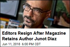 Editors Resign After Magazine Retains Author Junot Diaz