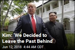 Kim: 'We Decided to Leave the Past Behind'