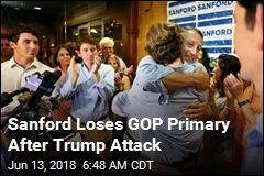 Sanford Loses GOP Primary After Trump Attack