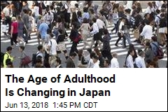 The Age of Adulthood Is Changing in Japan