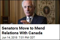 Senators Rush to Repair Canada-US Relations
