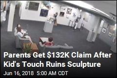 Parents Get $132K Claim After Kid Topples Sculpture