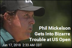 Phil Mickelson Gets Into Bizarre Trouble at US Open
