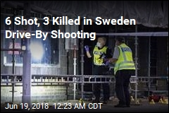 6 Shot, 3 Killed in Sweden Drive-By Shooting