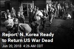 US Prepares for Return of Korean War Dead