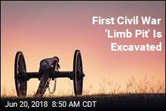 First Civil War 'Limb Pit' Is Excavated