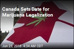 Canada Sets Date for Marijuana Legalization