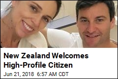 New Zealand Welcomes High-Profile Citizen