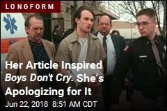 Her Article Inspired Boys Don't Cry. She's Apologizing for It