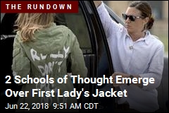 2 Schools of Thought Emerge Over First Lady's Jacket