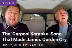 The 'Carpool Karaoke' Song That Made James Corden Cry