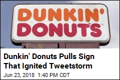 Donut Store Pulls Sign About Workers Not Using 'ENGLISH'