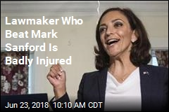 Woman Who Beat Mark Sanford Is Injured in Crash