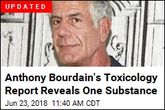 French Prosecutor Reveals Bourdain Toxicology Report