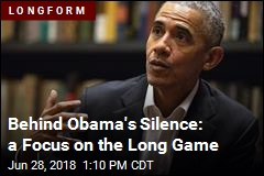 Even in Private, Obama Rarely Brings Up Trump