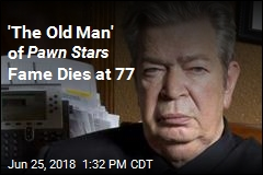Pawn Stars ' 'Old Man' Dead at 77