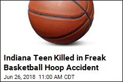 Indiana Teen Killed in Freak Basketball Hoop Accident