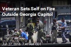 Veteran Sets Self on Fire Outside Georgia Capitol