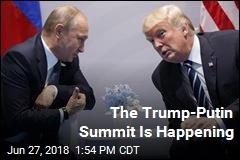Trump-Putin Summit Officially Announced