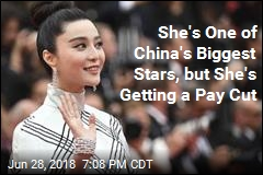 She's One of China's Biggest Stars, But She's Getting a Pay Cut