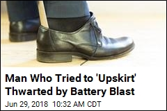 The Tool for a Crime Was in His Shoe. Then, an Explosion
