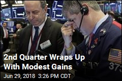2nd Quarter Wraps Up With Modest Gains