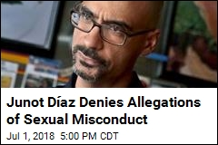 Junot Díaz Denies Allegations of Sexual Misconduct