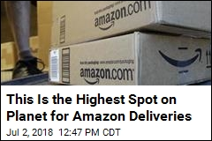 This Is the Highest Spot on Planet for Amazon Deliveries