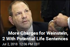 Weinstein Hit With 3 More Felony Sex Crime Charges