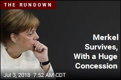 Merkel Survives, With a Huge Concession