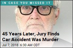 45 Years Later, Jury Finds Car Accident Was Murder