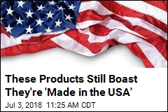 These Products Still Boast They're 'Made in the USA'