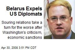 Belarus Expels US Diplomats