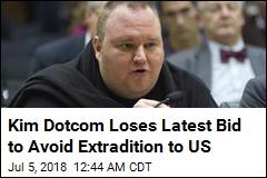 Kim Dotcom Loses Latest Bid to Avoid Extradition to US