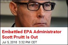 Scandal-Plagued EPA Chief Scott Pruitt Resigns