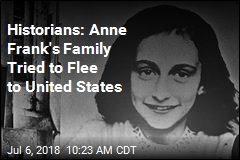 Historians: Anne Frank's Family Tried to Flee to United States