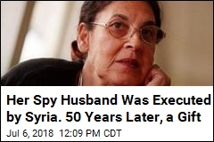 Her Spy Husband Was Executed by Syria. 50 Years Later, a Gift