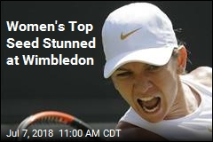 Women's Top Seed Stunned at Wimbledon